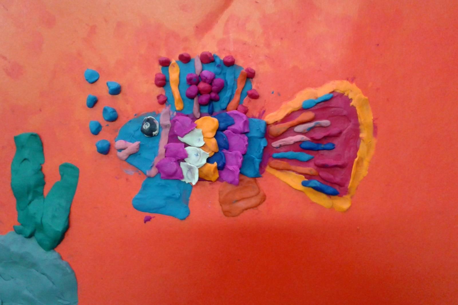 Рыбки лепка 60