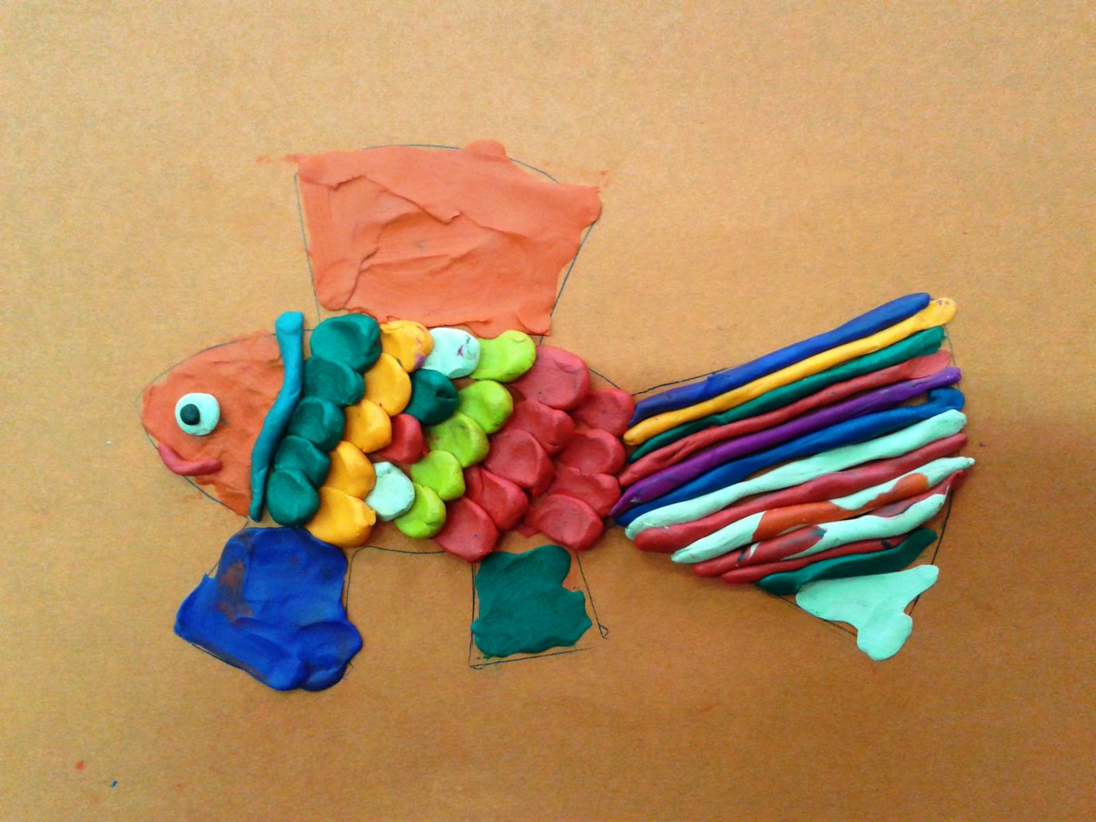 Лепка из пластилина с ребенком фото для 4 лет